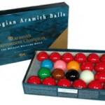 Belgian Aramith Tournament Champion Snooker Balls