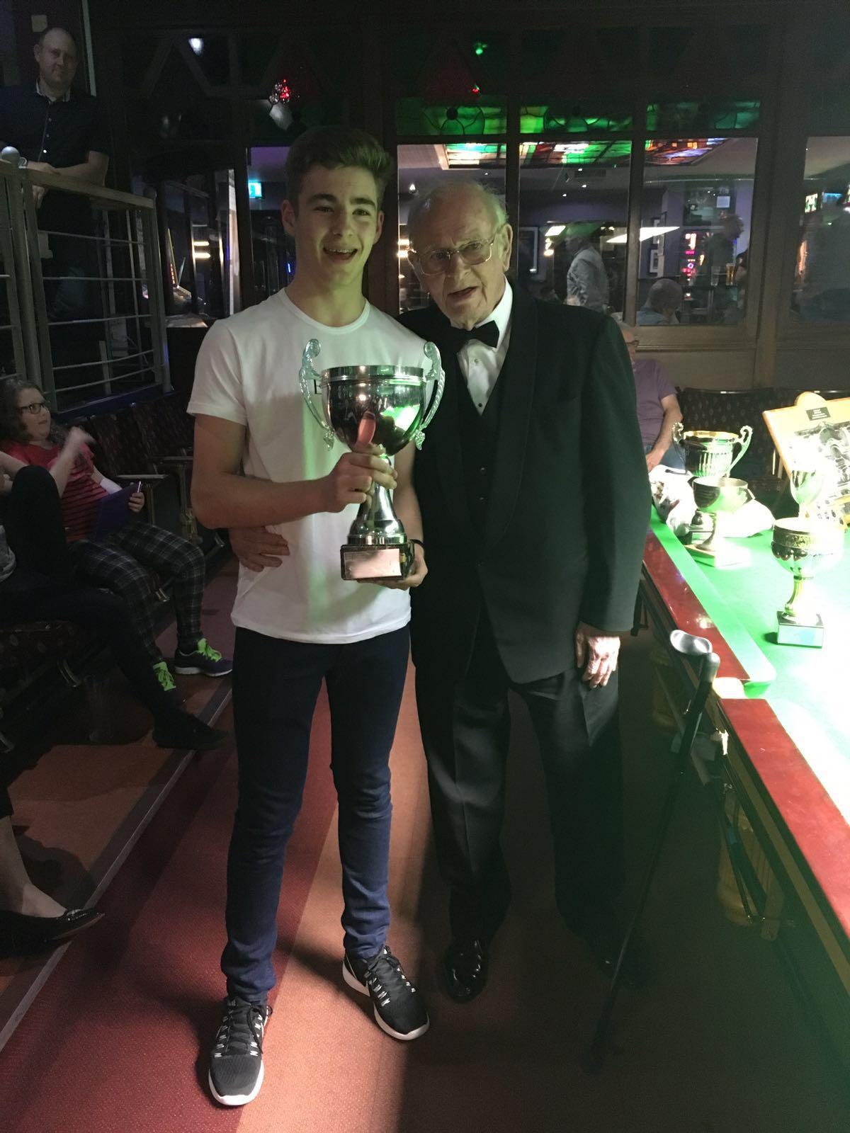 Callum Beresford U19 Winner