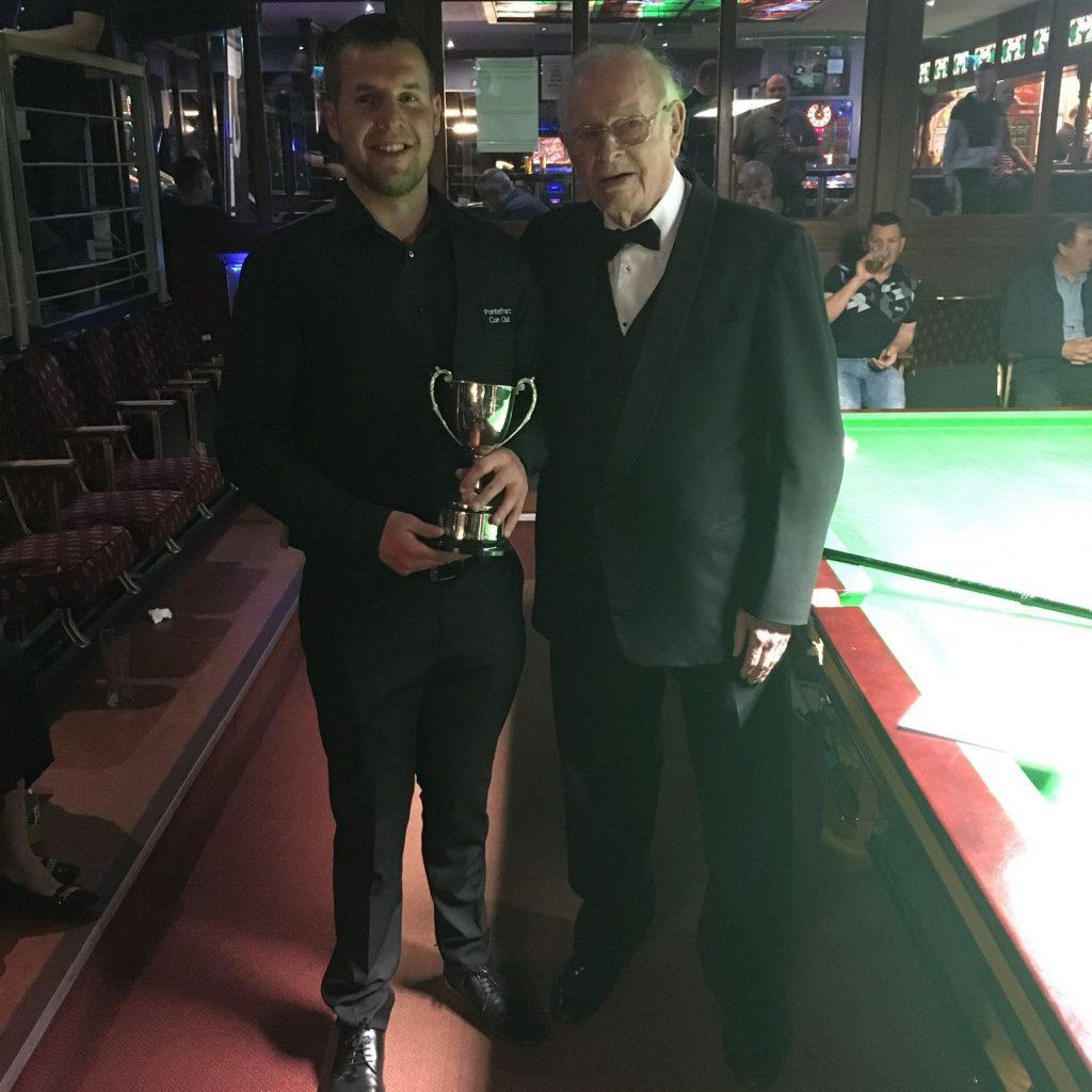 Mikey Tomlinson 2016 Winner