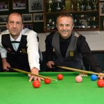 Kevin Firth, left, and Lewis Walsh, who have been called up by England Masters team for the Home International Series